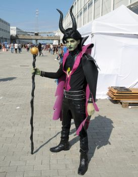 Maleficent (Male) Cosplay by Maspez