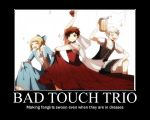 Bad Touch Trio by linka122