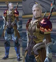 Geralt de Riv in Aion : Level 32 by fallenRazziel