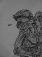 Halo Master Chief by mrkmhtet