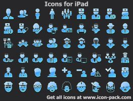 Icons for iPad by shockvideoee