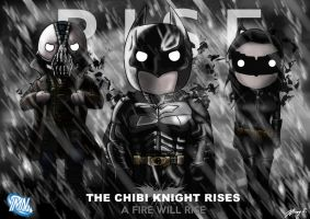 Batman: The Chibi Knight Rises by JC-790514
