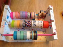 Washi tape dispenser by amarie6678
