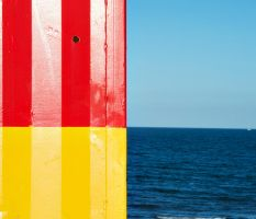 Seaside Abstract by Treamus