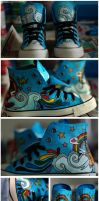 Hayley's Converse - Commision by Caz-Lock