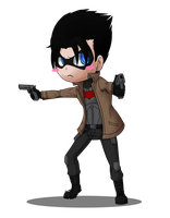 Chibi Red Hood by KumoriDragon