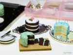 Mint Chocolate Chip Chocolate Cake 1 by TheMicroBakery