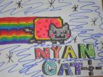 NYAN CAT by coolrastic