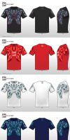 Stains T-shirt Designs by NewShadowX