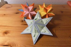Star Origamis by fleecyblue