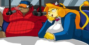 On the air with The BULLS by ShoNuff44