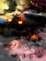 this is halloween D by greenwindstudio