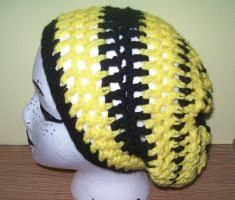 Knit: Hufflepuff House hat by ambiguousginger