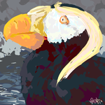 Tufted Puffin by Brookreed