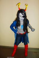 Are you ready???????? - Flarp Vriska / Homestuck by akiuSerket