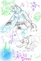 SKETCH DUMP by sexy-seductress-wolf