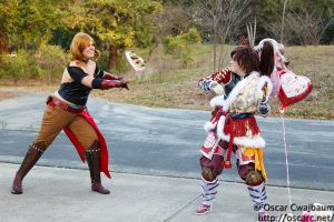 Sengoku Basara: I Love You...Not by bekalou-cosplay