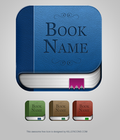 Free Book App Icon PSD by Killericons