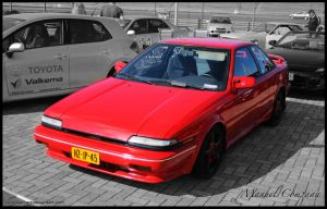 1989 Toyota Corolla GT-S by compaan-art