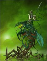 Green Dragon by tomzoo