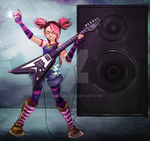 Rock On Miko by AXEL464
