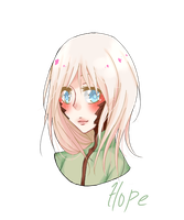 Commision : H O P E by sonxfanchara