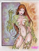 WITCHBLADE by RODEL MARTIN (10122013) by rodelsm21