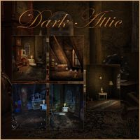 Dark Attic small pack by moonchild-ljilja