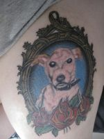 R.I.P. Jack Tattoo Finished by CandaceIsVampire