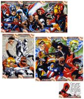 Captain America Sketch Cards 5 by eisu