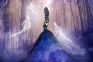 Her ghosts by PlacidAnemia