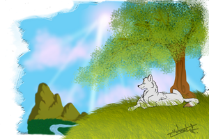 Peaceful by Nafsi-chan