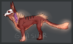 Skullmask Adopt 2[CLOSED] by Glasiar