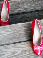 Ruby Slippers Climbing The Stairs by TheWizardofOzzy