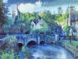 Castle Combe City by RHuggs