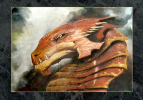 Dragon Ocre by gabos