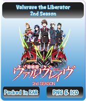 Valvrave the Liberator 2nd SEASON - Anime Icon by Rizmannf