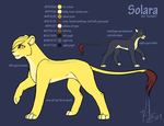 Solara: ref sheet by Kirsui