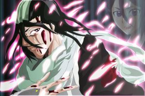 bleach byakuya kuchiki by greengiant2012