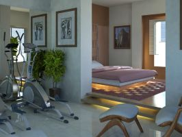Bed Room _Suku by psd0503