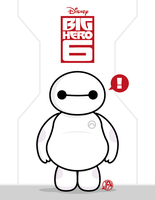 Little Hero 6 Baymax by Yei-Pi