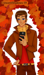 Selfie_Humanized Trenderman by crescentshadows19