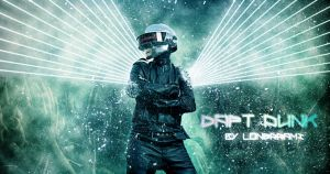 Daft-punk-by-lonerrami Wallpaper by LONERRAMI
