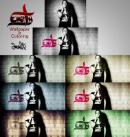 Emely Wallpaper Coloring Work by ManiaGraphic