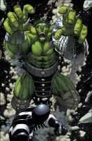 World War Hulk Issue 1 page 9 by CeeCeeLuvins