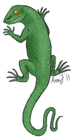- lizard for nilfy. by Ducktrot