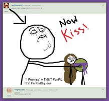 Now Kiss Donatello and Sophie! by FangirlSquees
