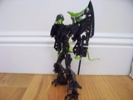 Bionicle MOC: Infectdroid by jumpstartautobot