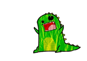 Dinosaur Rawr PNG by HappyCeci