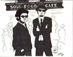 Soul Food Cafe by the-reconquista